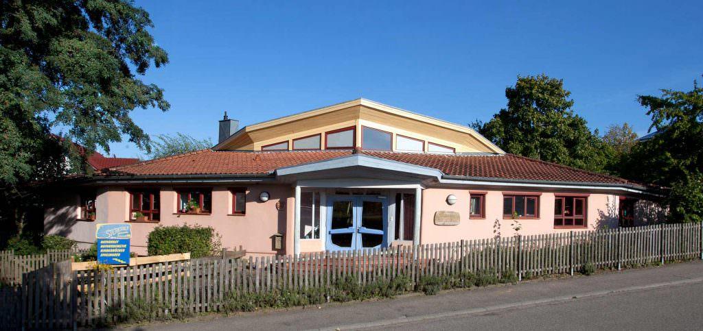 Der waldorf Kindergarten Karlsbad von Außen